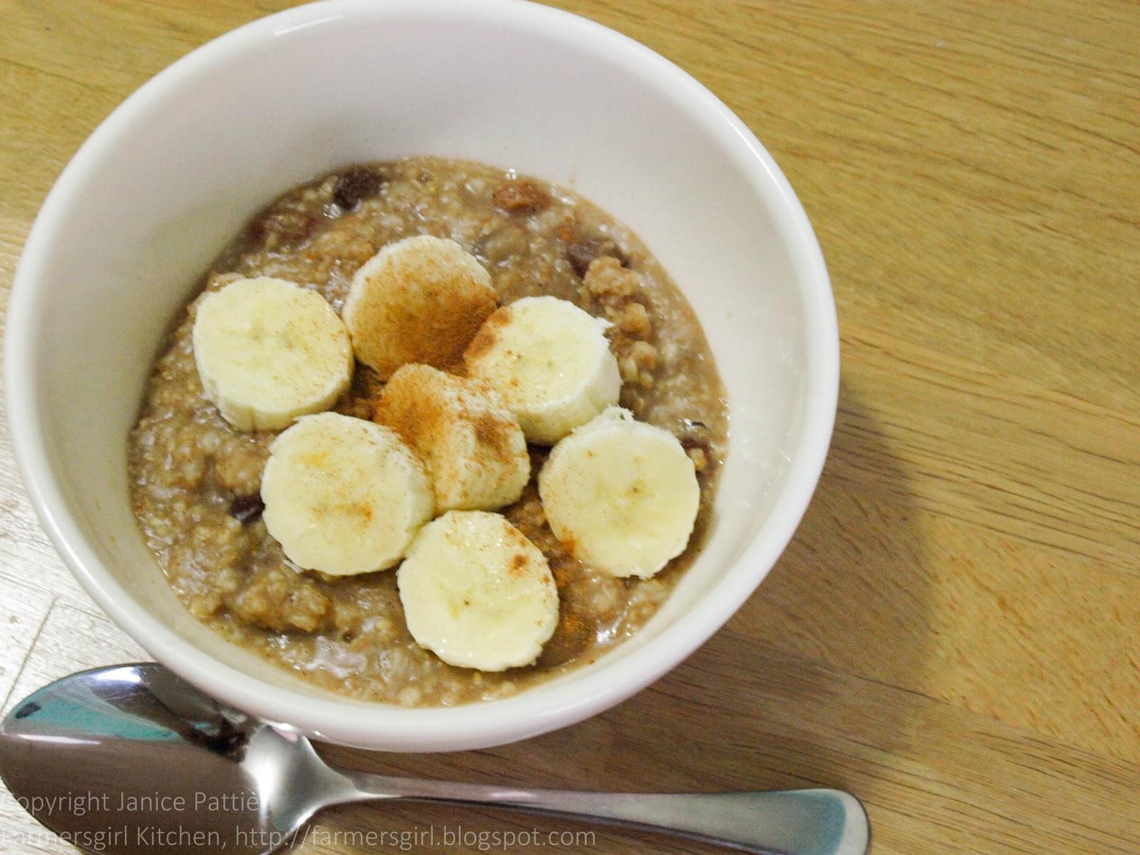 Fruity Porridge In A Flask For Breakfast Week