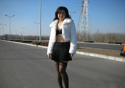 China Nude Exhibitionist Gone Wild
