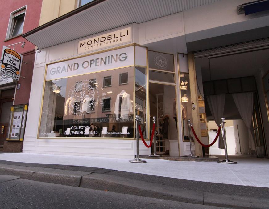 Mondelli Concept Store Eröffnung Würzburg, Mondelli Store, Pazi