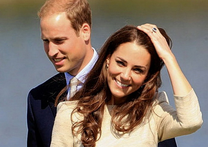 Wills and Kate - True Blue Royals