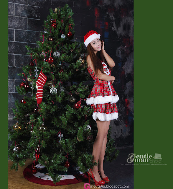 5 Santa Park Hyun Sun-Very cute asian girl - girlcute4u.blogspot.com