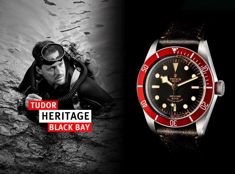 c segment wrist watches 8 8 2014 tudor heritage black bay burgendy red pm. Black Bedroom Furniture Sets. Home Design Ideas
