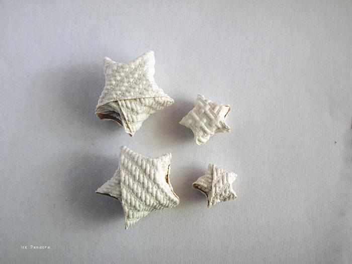 Ice pandora diy origami lucky stars for Diy lucky stars