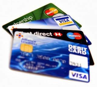 بطاقات فيزا و ماستر كارد للانترنت