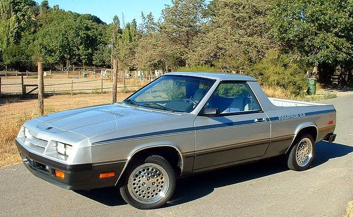 Dodge Rampage on 1986 Dodge Raider