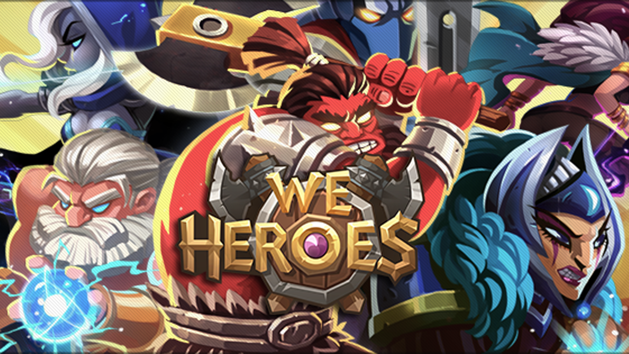 We Heroes - Born to Fight Gameplay IOS / Android