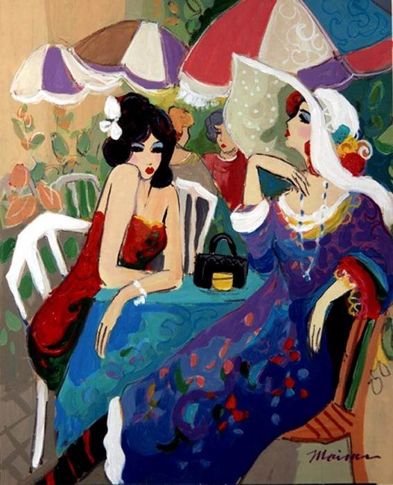 S Lazo Art Women Painting