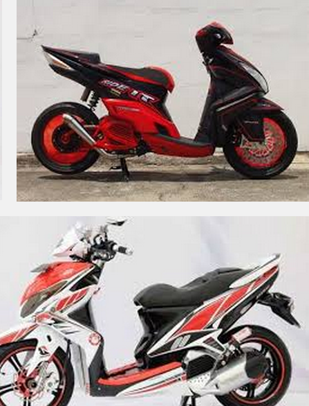 contoh modifikasi yamaha mio eagle eye