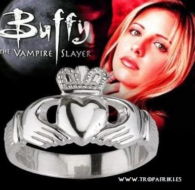 Anillo Claddagh Buffy Cazavampiros