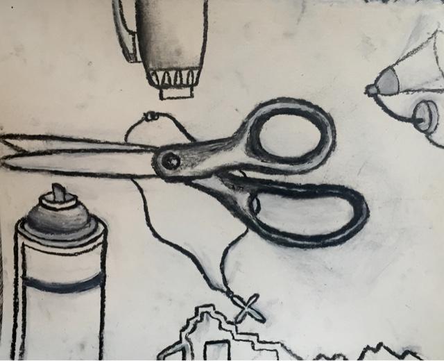 Basic Drawing ART 201 - Kate: Week 5 Drawings and Mark-making