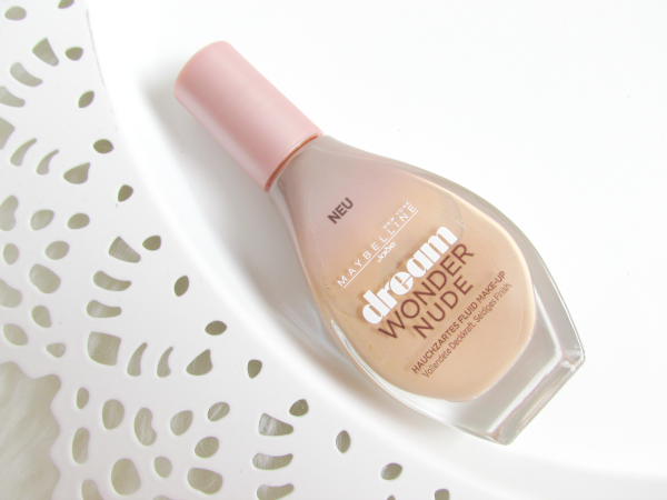 Maybelline New York - dream WONDER NUDE Hauchzartes Fluid Make-up - Review
