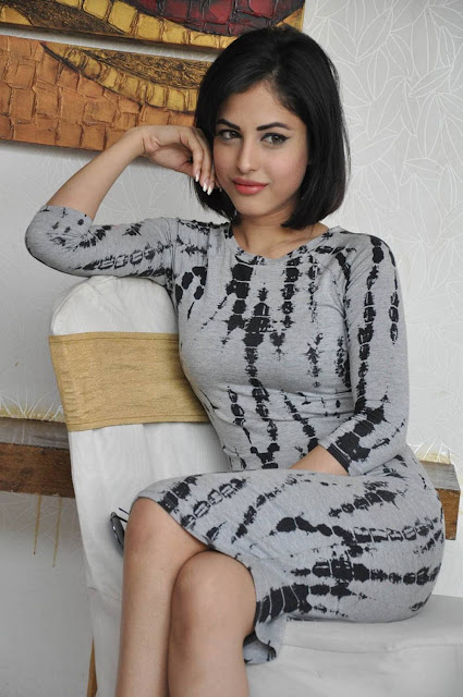 Priya Banerjee Stills At Asura Movie Promotions