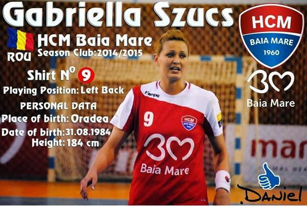 Gabriella Szucs HCM Baia Mare
