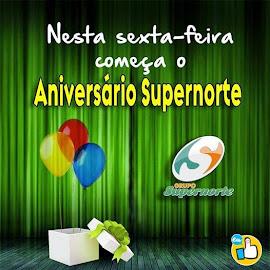 Não percam nesta sexta-feira (12), os festejos de aniversário do grupo SUPERNORTE