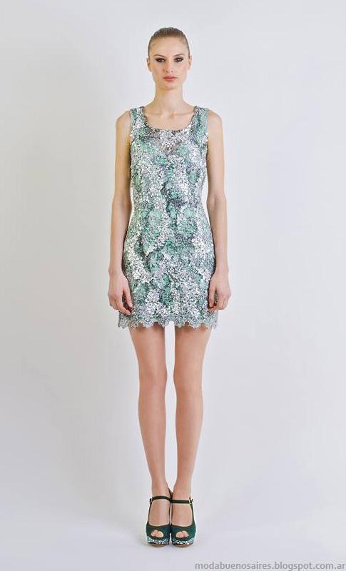 Vestidos moda 2014. Natalia Antolin vestidos verano 2014.