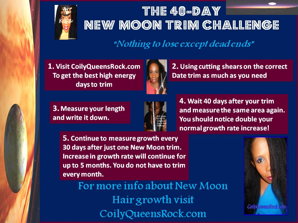Coilyqueens Come Grow With Me Take The 40 Day New Moon Phase