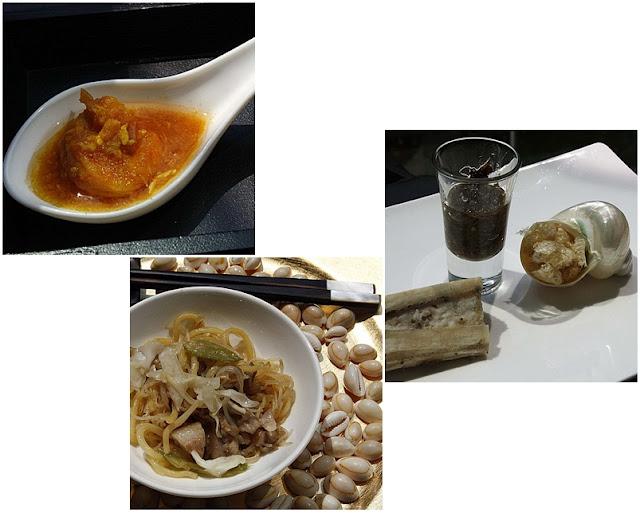 Balut Salpicao, Hiplog, Oxtail Marmalade