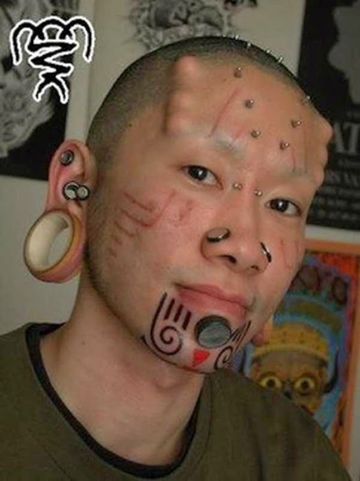 Scary Body Modifications Unseen Photos