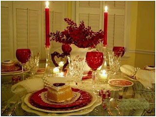 San Valentín, Día de los Enamorados, Decoración de Mesas, parte 2