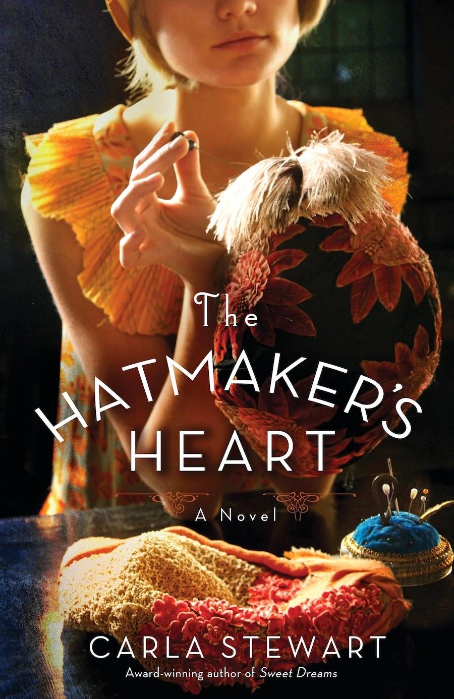 http://www.amazon.com/The-Hatmakers-Heart-A-Novel/dp/1455549940/ref=tmm_pap_title_0