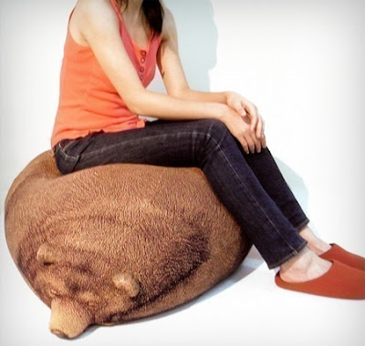 Cool Sleeping Bear Bean Bag Seen On www.coolpicturegallery.us