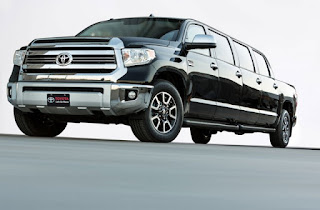 Toyota Tundrasine, A Limousine Pick Up Nuances Of Private Jets