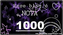 """""""Esse blog é nota 1000"""""""