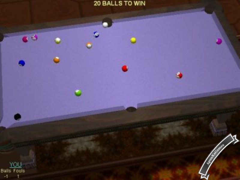 Perfect Pool 3D Screenshots