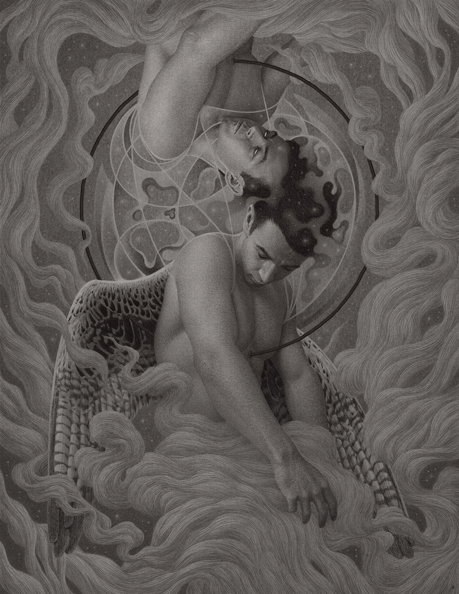 15-Immortality-II-Boris-Pelcer-Marriage-of-Traditional-and-Digital-Art-www-designstack-co