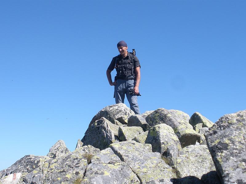 Szczyt Zadniego Granata (2240 m n.p.m.).