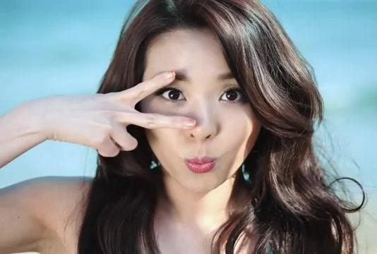 sandara park charming korean singer 03