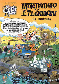 La Sirenita - Mortadelo y Filemón