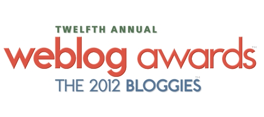 Shortlisted for Best European Blog in the 2012 Bloggies