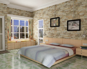 Motif-Ceramic-Floor-Room-Bedroom-Minimalist