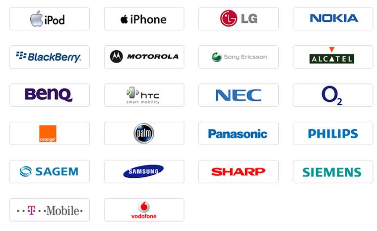 logos moviles: