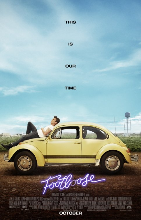 Footloose 2011 poster