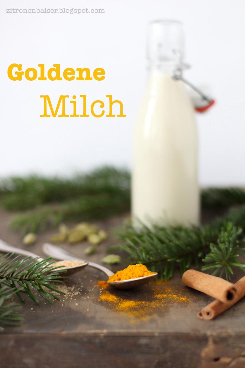 Rezept ayurvedische Goldene Milch vegan gesund lecker