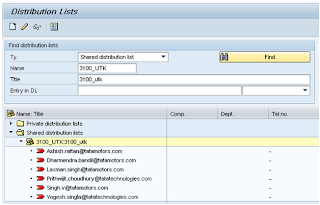 Creating Distribution List & Email Functionality
