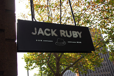 Jack Ruby Sign on King William Street, Adelaide