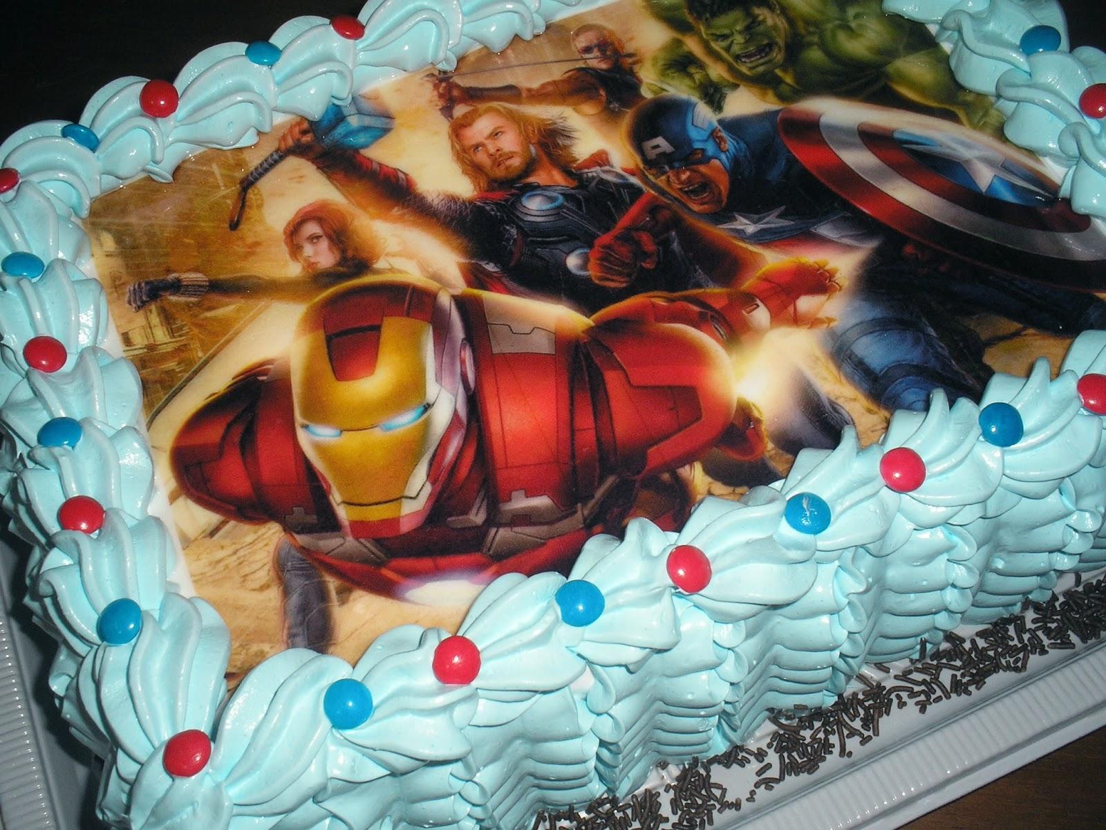 A bolaria bolo decorado os vingadores for Imagenes de papel decorado