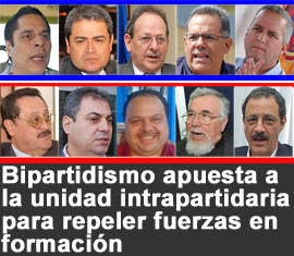 Los precandidatos del 2011