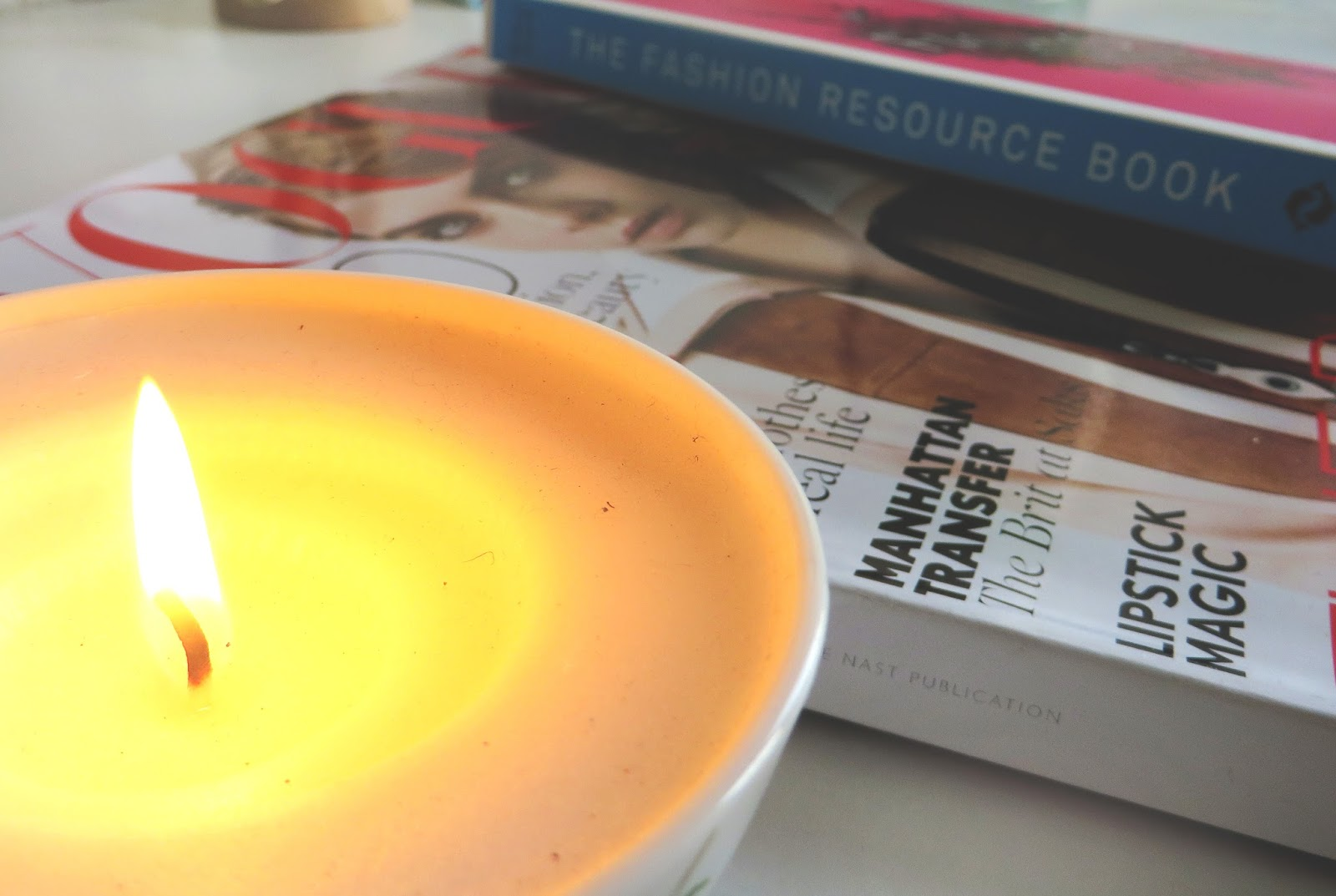 candle, vogue, the fashion resource book