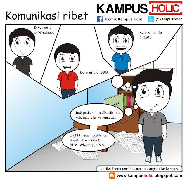 #103 Komunikasi mahasiswa yang amat sangat ribet