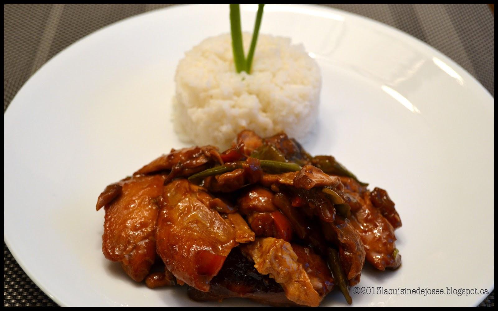 La cuisine de jos e poulet l 39 ananas la mijoteuse - Ricardo cuisine mijoteuse ...