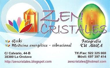 La 1ª Tienda/Librería y Centro de Terapias Energética/Vibracional de Tenerife.