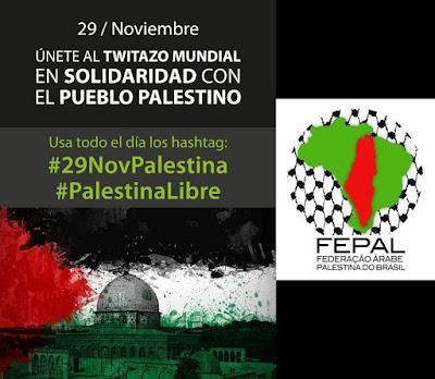 Dia Internacional de Solidariedade com o Povo Palestino