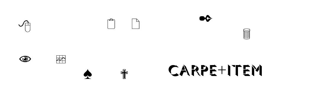 CARPE+ITEM