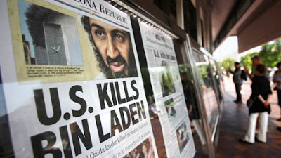 Newspapers see big demand from bin Laden news