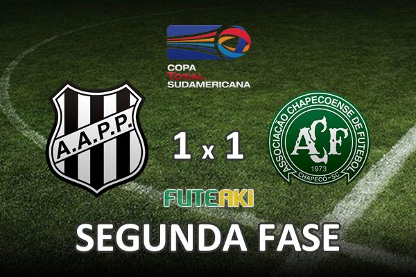 Veja o resumo da partida com os gols e os melhores momentos de Ponte Preta 1x1 Chapecoense pela segunda fase da Copa Sul-Americana 2015.