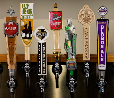Louisiana Craft Brewers' Tap Handles
